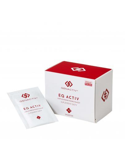 GenActiv Eq Activ liofilizowane mleko klaczy 30 saszetek