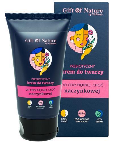Gift Of Nature prebiotyczny krem do twarzy do cery naczynkowej 50 ml