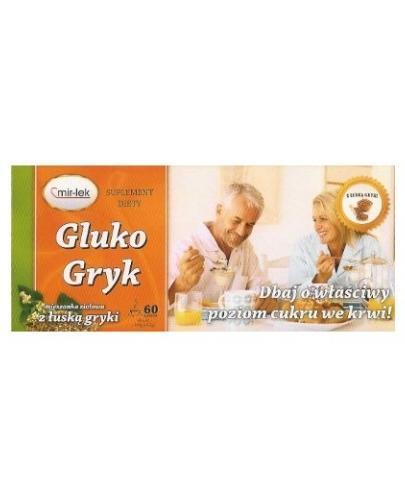 Gluko Gryk mieszanka ziołowa z liściem morwy białej i łuską gryki 60 saszetek