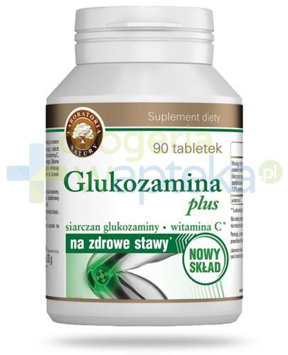 Glukozamina Plus na zdrowe stawy 90 kapsułek  whited-out