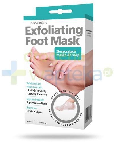 GlySkinCare Exfoliating Foot Mask maska złuszczająca do stóp 1 para
