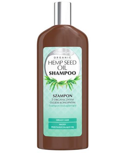 GlySkinCare Hemp Seed Oil szampon z organicznym olejem konopnym 250 ml