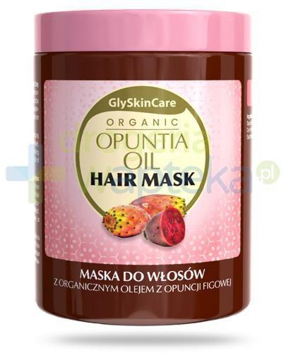 GlySkinCare Opuntia Oil maska do włosów z organicznym olejem z opuncji figowej 300 ml  whited-out