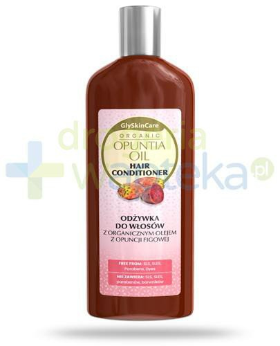 GlySkinCare Opuntia Oil odżywka do włosów z organicznym olejem z opuncji figowej 250 m...