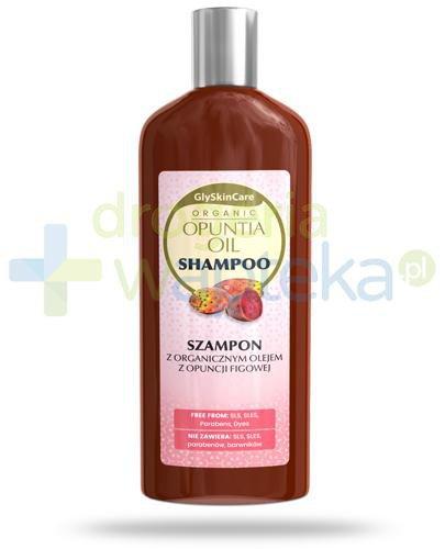 GlySkinCare Opuntia Oil szampon z organicznym olejem z opuncji figowej 250 ml