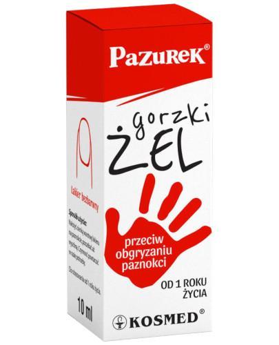 Gorzki Pazurek żel przeciw obgryzaniu paznokci 10 ml