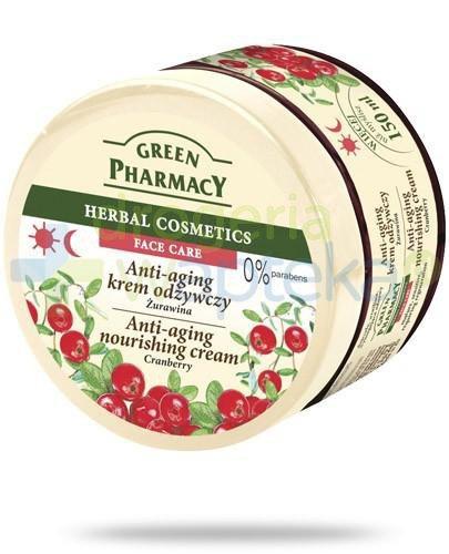 Green Pharmacy anti-aging krem odżywczy żurawina 150 ml Elfa Pharm