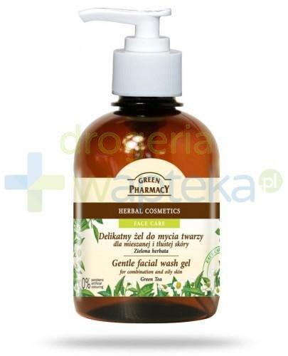 Green Pharmacy Delikatny żel do mycia twarzy dla mieszanej i tłustej skóry Zielona herbata 270 ml Elfa Pharm