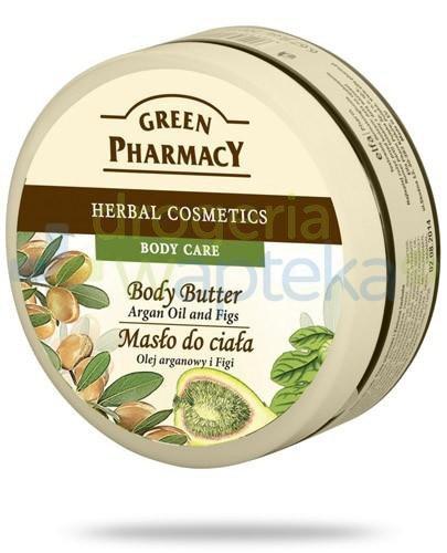 Green Pharmacy masło do ciała olej arganowy figi 200 ml Elfa Pharm