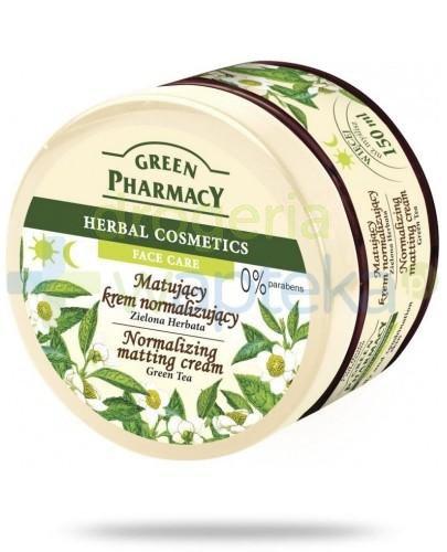 Green Pharmacy Matujący krem normalizujący Zielona Herbata 150 g Elfa Pharm
