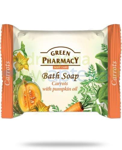 Green Pharmacy mydło toaletowe marchewka pomarańcza olej z pestek dyni 100 g Elfa Pharm