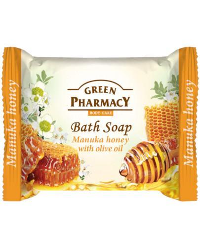 Green Pharmacy mydło toaletowe miód manuka olejek z oliwek 100 g Elfa Pharm