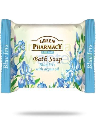 Green Pharmacy mydło toaletowe niebieski irys olejek arganowy 100 g Elfa Pharm