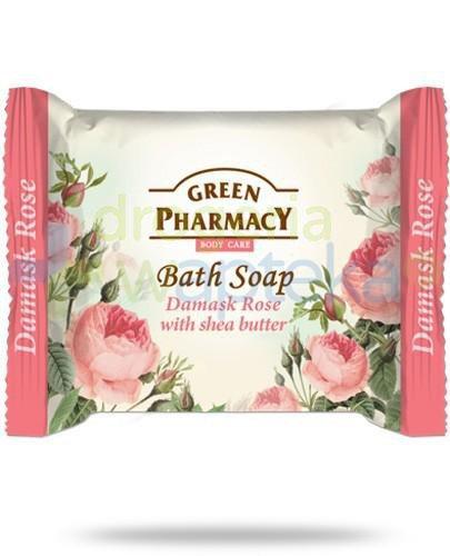 Green Pharmacy mydło toaletowe róża damasceńska masło shea 100 g Elfa Pharm