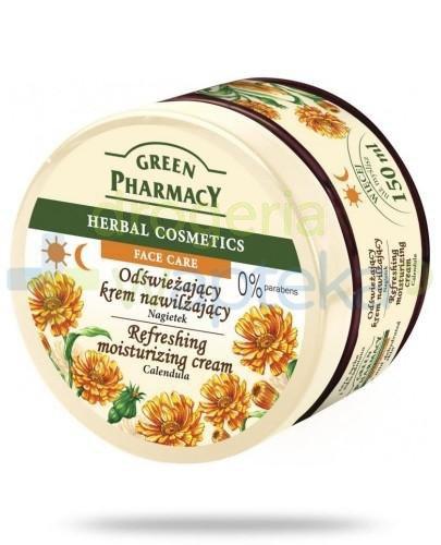 Green Pharmacy Nagietek odświeżający krem nawilżający 150 g Elfa Pharm