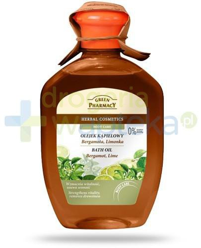 Green Pharmacy olejek kąpielowy bergamotka limonka 250 ml Elfa Pharm