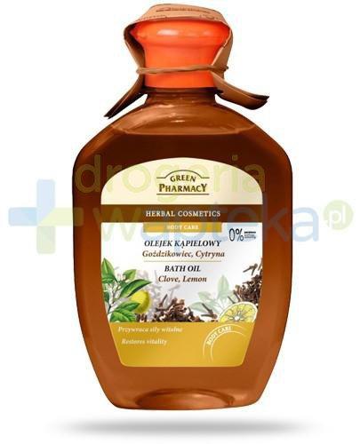 Green Pharmacy olejek kąpielowy goździkowiec cytryna 250 ml Elfa Pharm