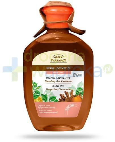 Green Pharmacy olejek kąpielowy mandarynka cynamon 250 ml Elfa Pharm