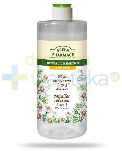 Green Pharmacy Płyn micelarny 3 w 1 Rumianek 500ml Elfa Pharm