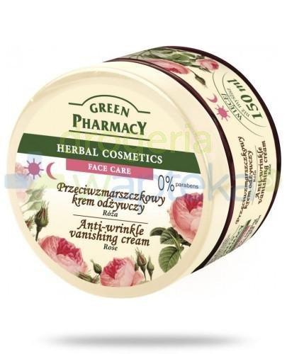 Green Pharmacy Róża przeciwzmarszczkowy krem odżywczy 150 g Elfa Pharm