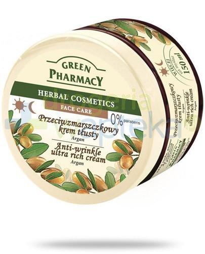 Green Pharmacy Argan przeciwzmarszczkowy krem tłusty 150 ml Elfa Pharm