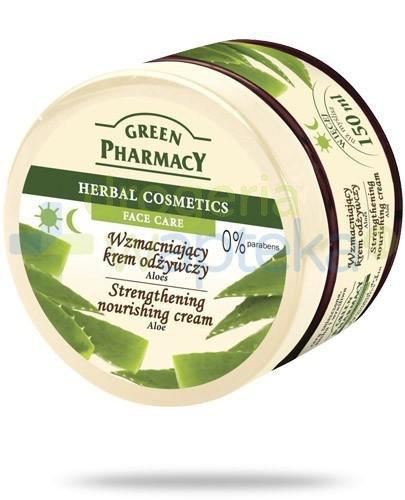 Green Pharmacy wzmacniający krem odżywczy do twarzy aloes 150 ml Elfa Pharm