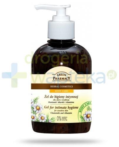 Green Pharmacy Body Care żel do higieny intymnej dla skóry wrażliwej z rumiankiem lekar...