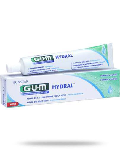 GUM Hydral pasta do zębów nawilżająca 75 ml