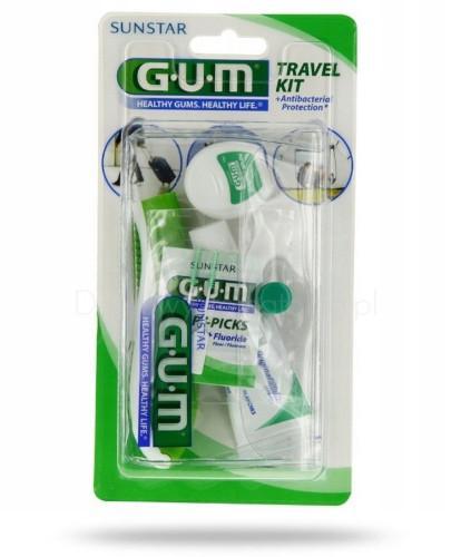 GUM Travel Kit zestaw podróżny 1 sztuka [ZESTAW]