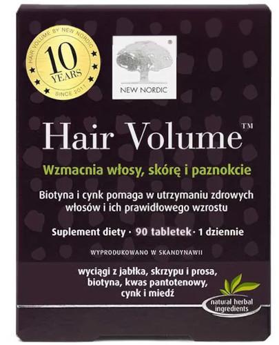 Hair Volume 90 tabletek  whited-out