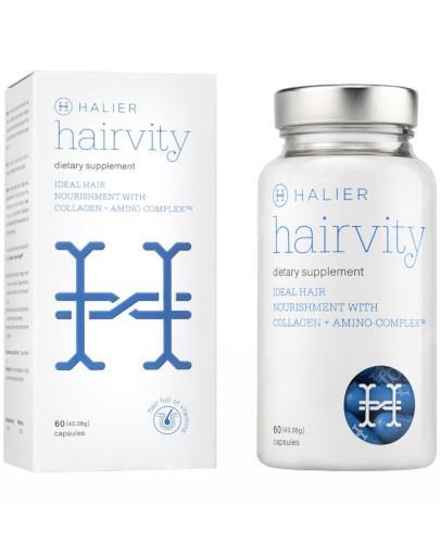 Hairvity zdrowe włosy od wewnątrz 60 kapsułek