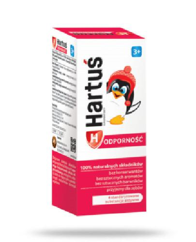 Hartuś Odporność 3+ syrop dla dzieci 120 ml  whited-out