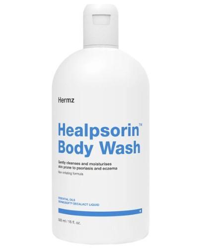 Healpsorin Body Wash żel do mycia ciała dla skóry dotkniętej zmianami łuszczycowym...