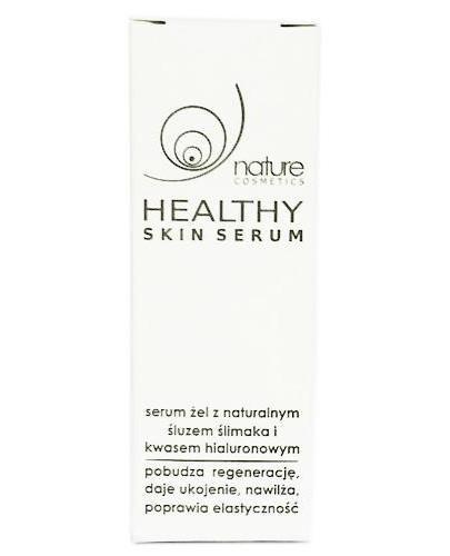 Healthy Skin serum żel z naturalnym śluzem ślimaka i kwasem hialuronowym 5 ml