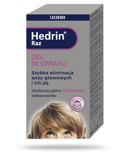 Hedrin Raz żel, spray 60 ml