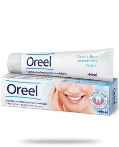 Heel Oreel łagodząco-pielęgnujący żel na dziąsła 10 ml