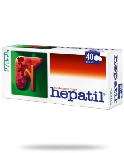 Hepatil 40 tabletek