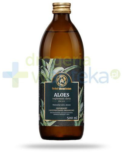 Herbal Monasterium Aloes naturalny sok z aloesu 500 ml