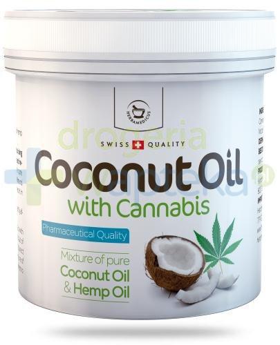 Herbamedicus Super Kokos & Konopie olej kokosowy do ciała 250 ml