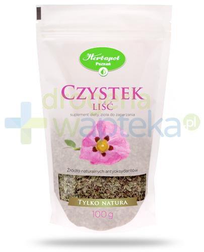 Herbapol Tylko Natura Czystek Liść herbatka ziołowa 100 g