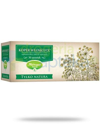Herbapol Tylko Natura Koper Włoski Fix zioła do zaparzania 30 saszetek