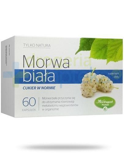 Herbapol Tylko Natura Morwa Biała cukier w normie 60 kapsułek