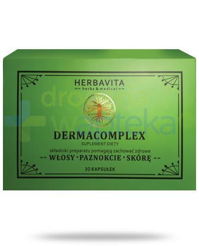 HerbaVita DermaComplex 30 tabletek [Data ważności 31-10-2019]