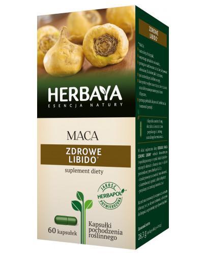 Herbaya Maca, zdrowe libido 60 kapsułek
