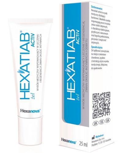 Hexatiab Active żel dopochwowy 25 ml