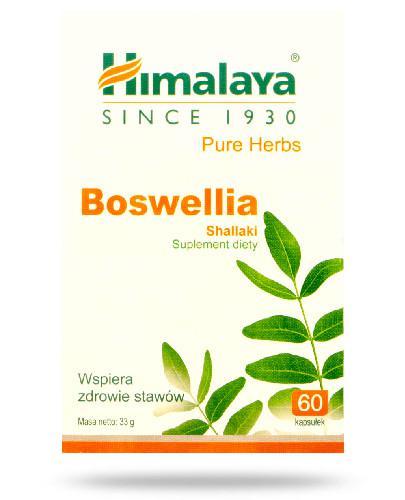 Himalaya Boswellia 60 kapsułek