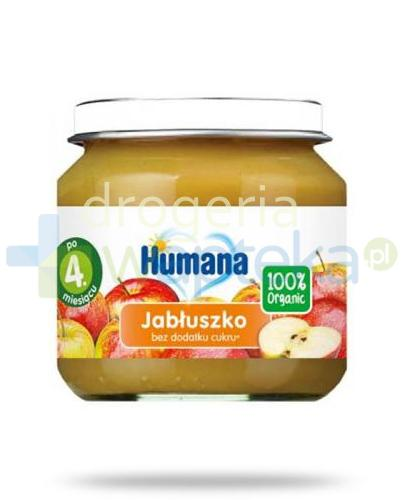 Humana 100% Organic Jabłuszko 4m+ 80g