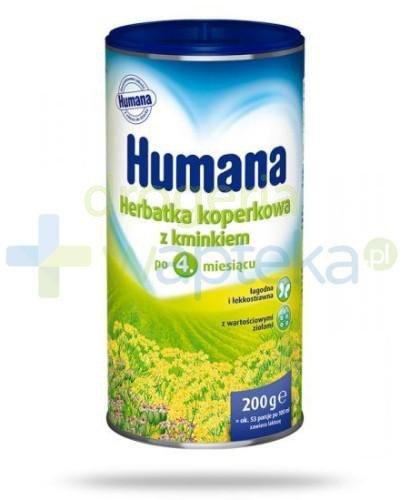 HUMANA Herbatka z kopru włoskiego z kminkiem granulat 200g   whited-out