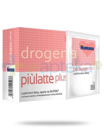 Humana Piulatte plus 14 saszetek  whited-out