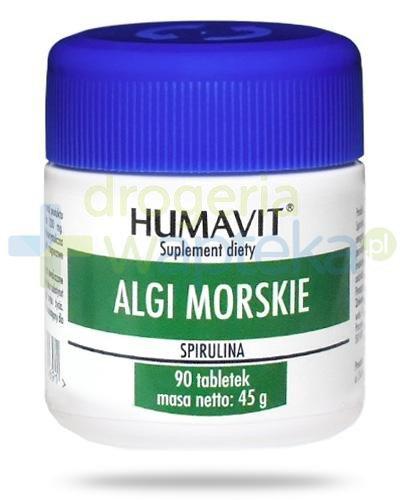 Humavit Algi morskie 90 tabletek  whited-out